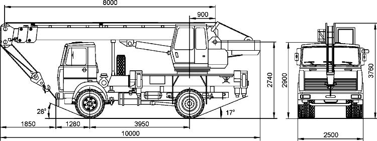 Габариты КС-35715